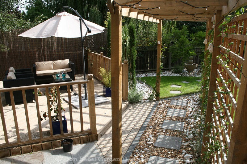 Don bebel garden design maintenance for Garden decking designs uk