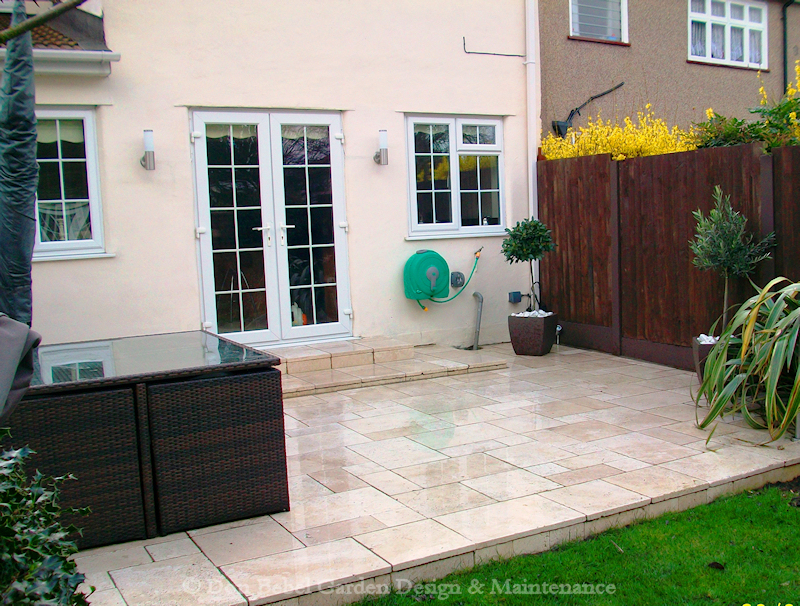 back garden patio designs pdf